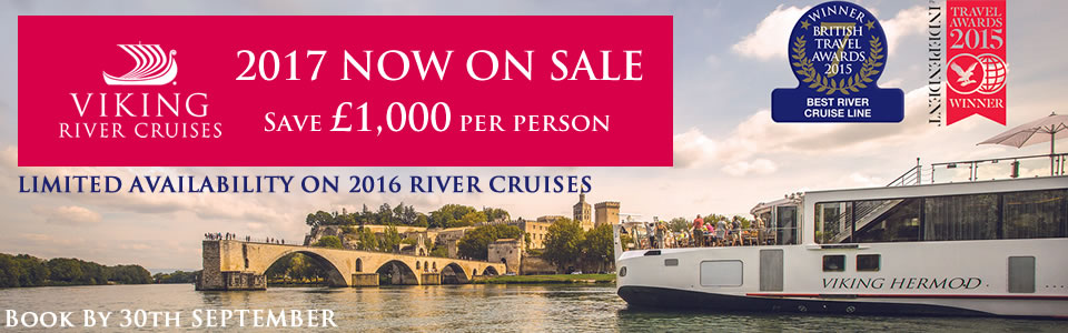 Viking 2016 & 2017 Europe River Cruises