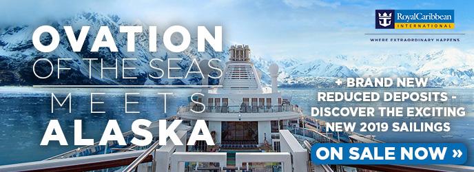 Royal Caribbean - Ovation of the Seas - Alaska Cruises