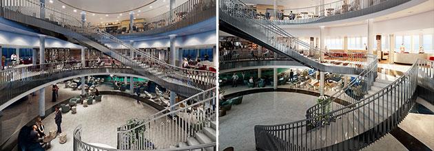 P&O Cruises Iona - Atrium