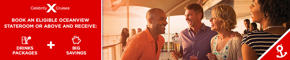 Celebritycruises Southampton  Free Drinks Package