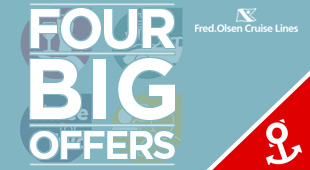 Fred Olsen Cruise Line - Four BIG Offers