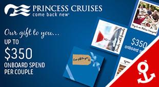 2018 Princess Cruises from Southampton