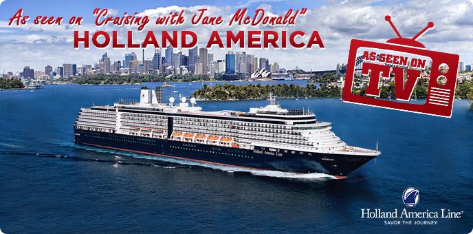 Holland America - Cruising with Jane McDonald