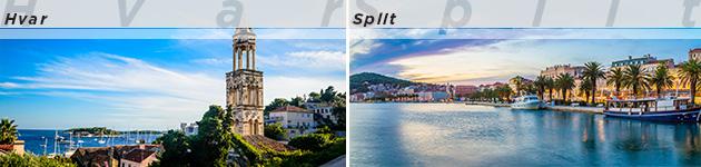 Hvar & Split