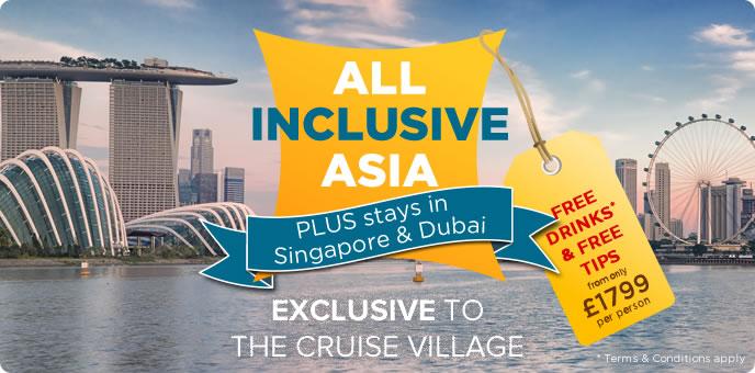 Celebrity Constellation - Singapore, Dubai & All Inclusive Asia
