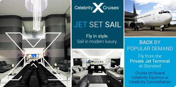 Celebrity Cruises - Jet Set Sail