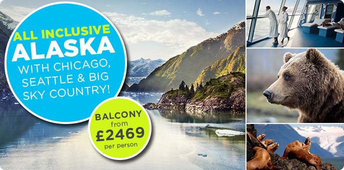 Celebrity Cruises - All Inclusive Alaska