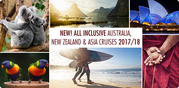 New Australia, New Zealand & Asia Cruises with Norwegian