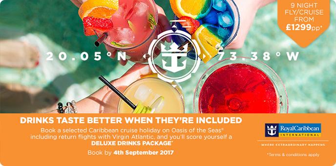 Royal Caribbean - 2017/2018 Caribbean Cruise Offers