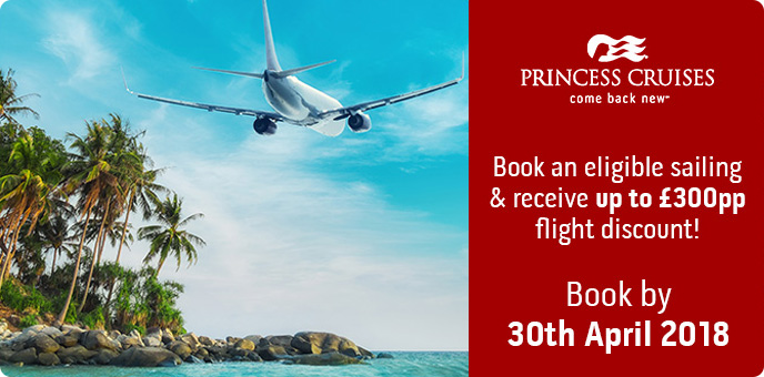 Princess Cruises - Flight Discount