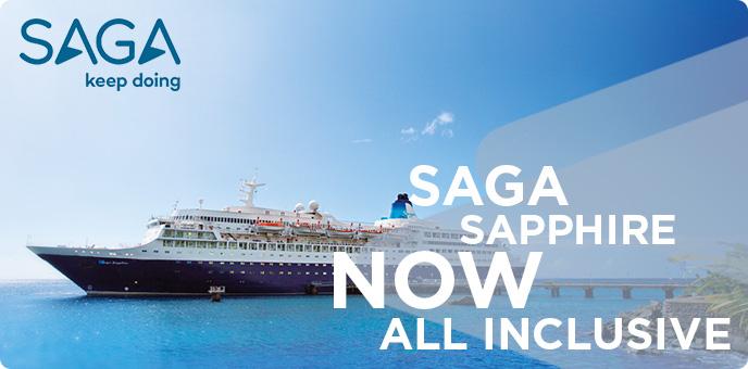 Saga Cruises - Saga Sapphire 2018 Cruises