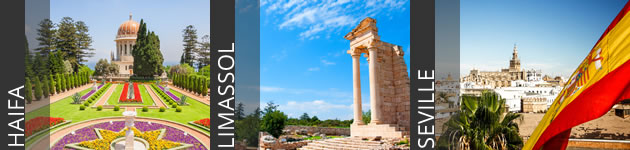 Haifa, Limassol & Seville