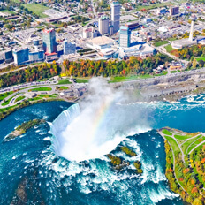 Niagara Falls by helicopter