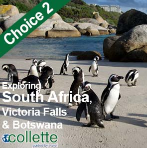 Collette Special Offers - Exploring South Africa, Victoria Dalls & Botswana - 15 Days from £4179pp! See here for more information
