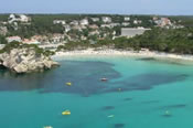 Click to find out more about holidays to Cala Galdana