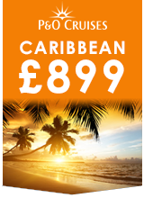 P&O Cruises Caribbean £899 Campaign Badge