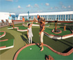 Golf on board Carnival
