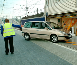 Take your car on Eurotunnel