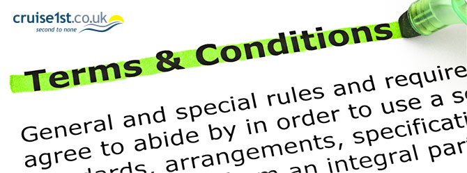 Cruise1st Package Holiday Terms & Conditions