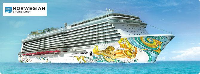 Norwegian Cruise Line Getaway Ship