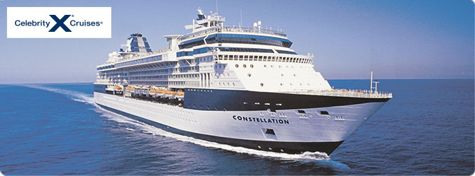 Celebrity Cruises with the Constellation