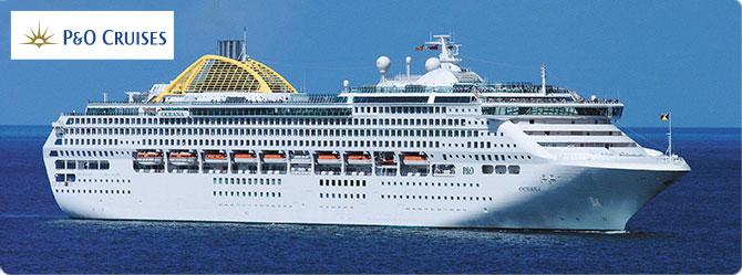 P & O Oceana Cruise Ship