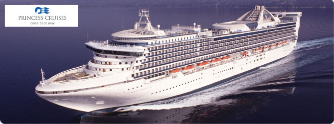 Princess Cruise Line Golden Princess Ship