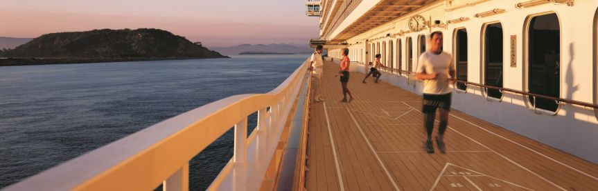 Crystal Cruises Deck
