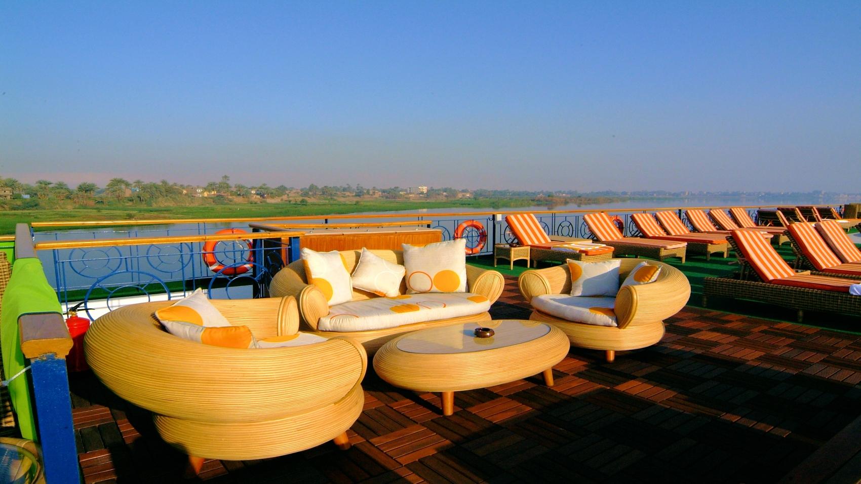 Royal Esadora Nile Cruise Deck