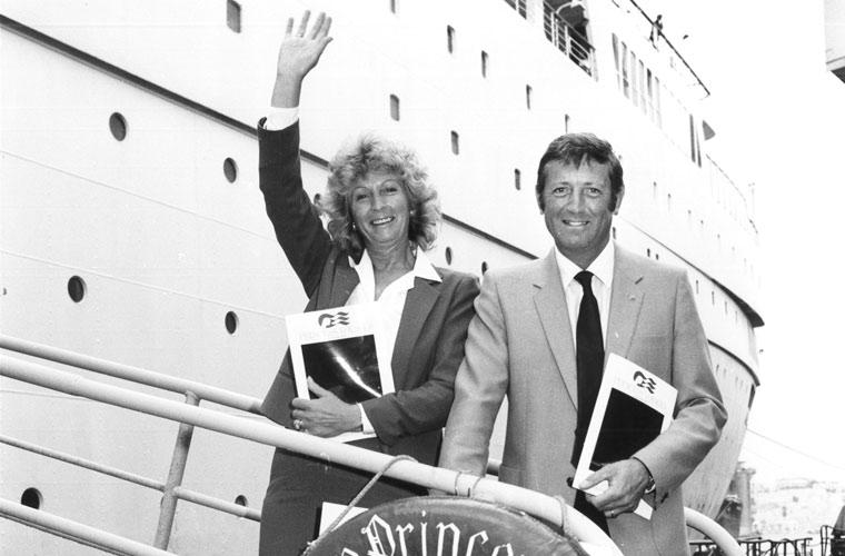 Derek and Audrey Wilson Bolsover Cruise Club