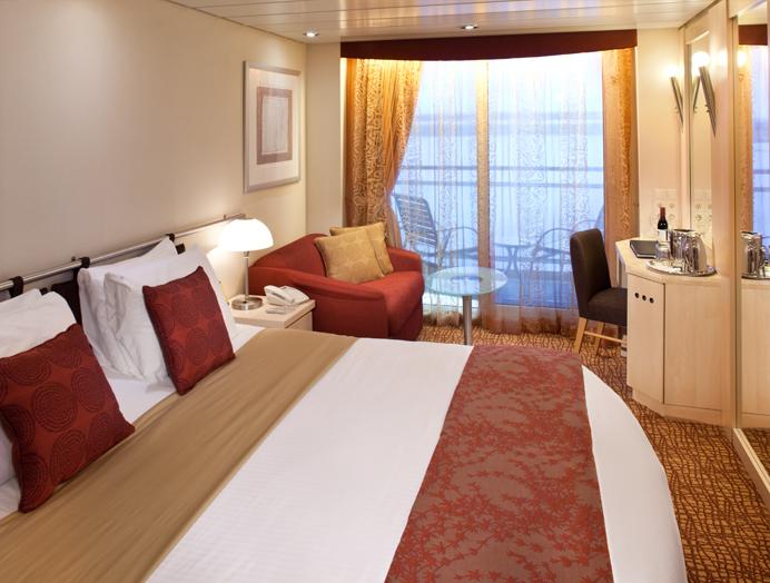 Celebrity Cruises Cabina con Balcón