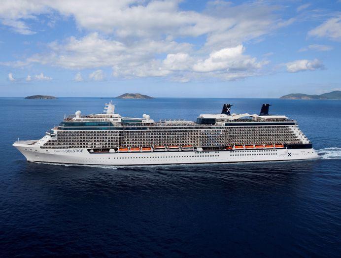 Celebrity Cruises Clase Solstice