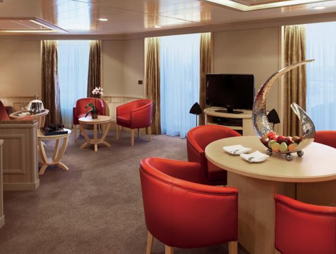 Grand Suite en Silversea