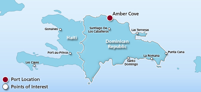 Cruises from Amber Cove | Amber Cove, Dominican Republic ...