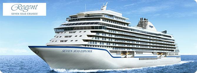 Regent Cruises with the Seven Seas Explorer