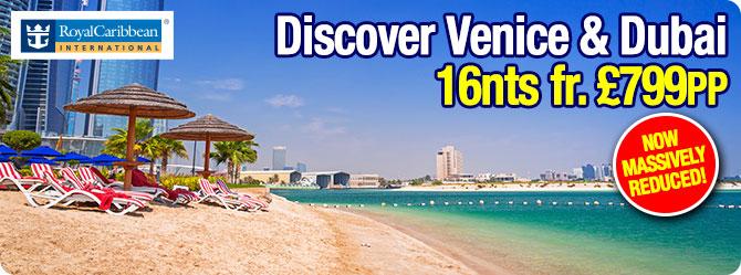 Vision of the Seas - Venice to Dubai