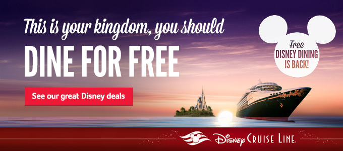 Generic | FREE Disney Dining | Add a Disney cruise