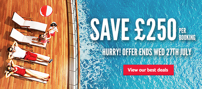 Generic | Save £250 per booking | Hurry offer ends wed 27th July