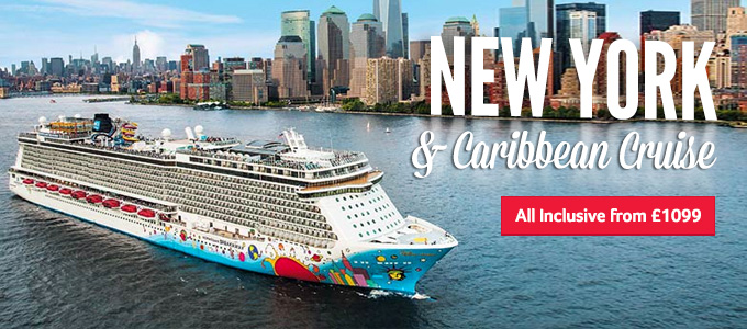 Generic | New York & Caribbean Cruise | All Inclusive from £999