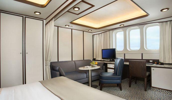 Cruceros Silversea, Terrace Suite