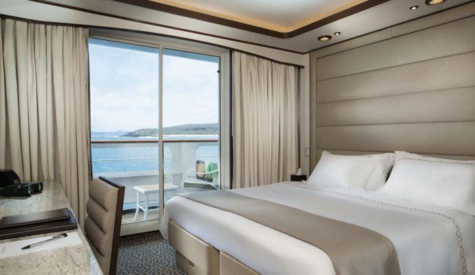 Cruceros Silversea, Deluxe Veranda Suite