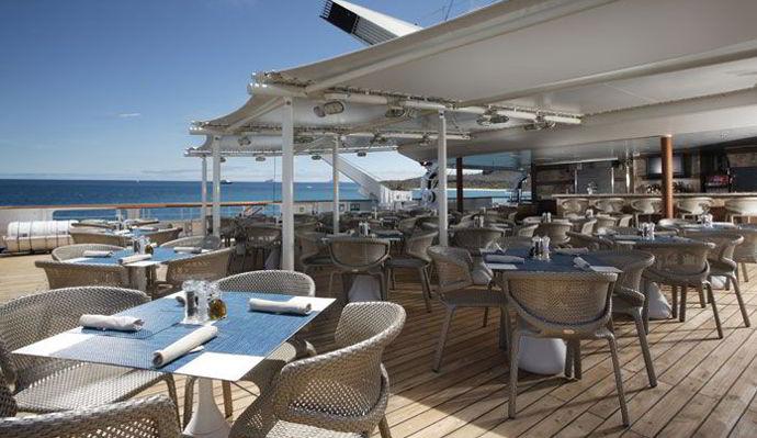 Cruceros Silversea, Restaurante The Grill