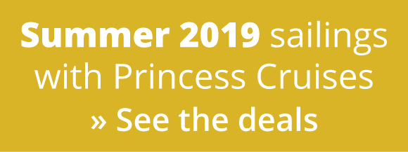 Princess Cruises Summer 2019