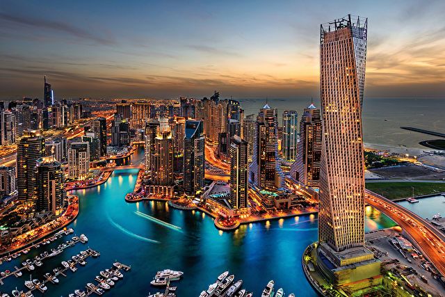 Southampton to Dubai