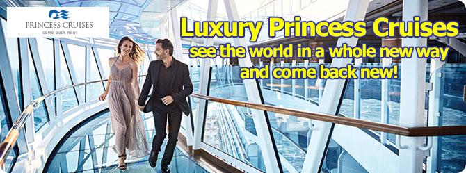 Princess Cruise Line Sapphire Princess Ship