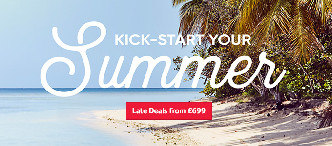 Generic | Kick start your Summer | Late Deals from £699