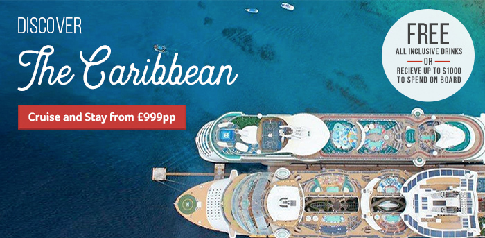 Generic | Discover the Caribbean - Free All Inclusive or $1000 OBC | Cruise & Stay from £999