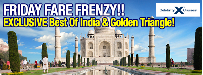 Friday fare Frenzy - Golden Triangle