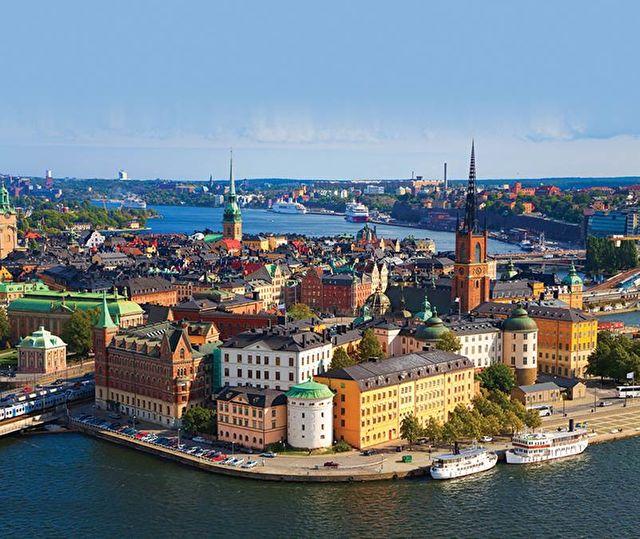 Russia and Scandinavia from Copenhagen