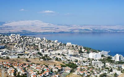 Overview of Tiberias